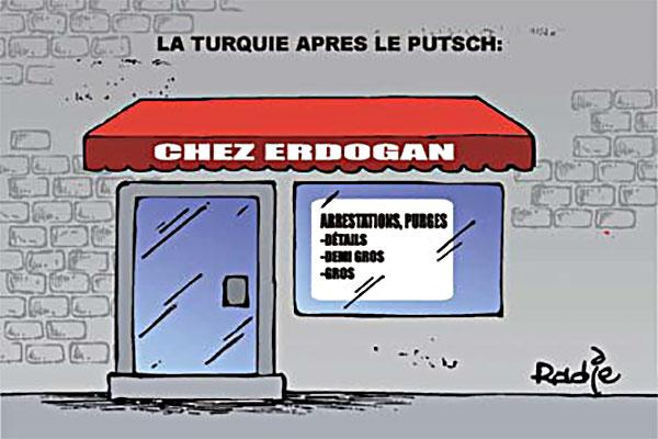 La Turquie après le putsch