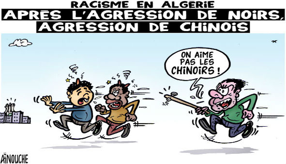 Racisme en Algérie: Après l'agression de noirs, agression de chinois