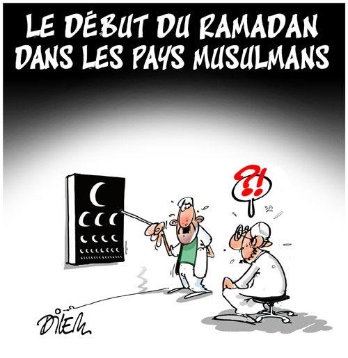 Le début du ramadan dans les pays musulmans