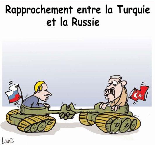 Rapprochement entre la Turquie et la Russie