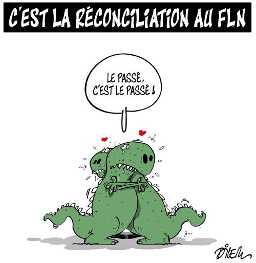 C'est la réconciliation au fln