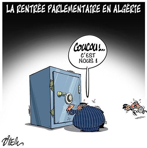 La rentrée parlementaire en Algérie