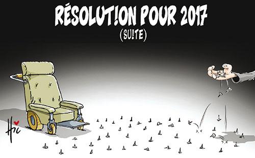 Résolution pour 2017