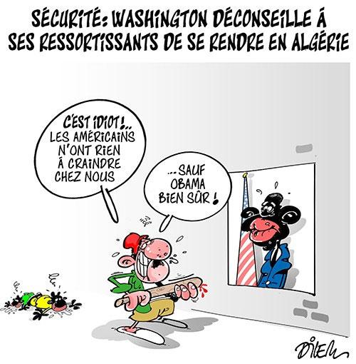 Sécurité: Washington déconseille à ses ressortissants de se rendre en Algérie
