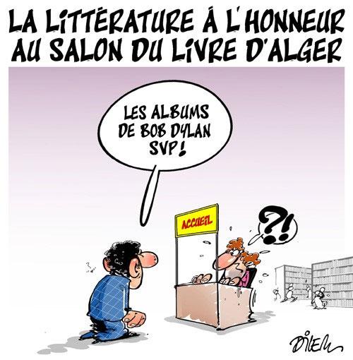 La littérature à l'honneur au salon du livre d'Alger