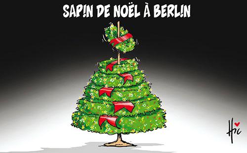 Sapin de no l berlin caricatures et humour - Sapin de noel humour ...