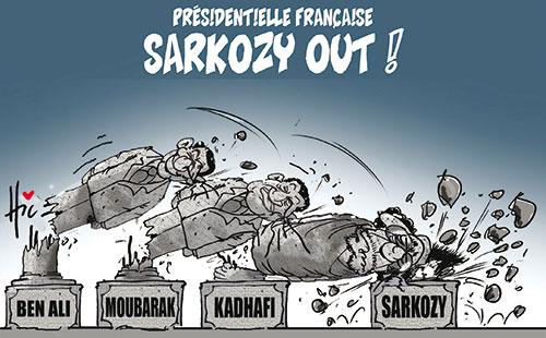 Présidentielle française: Sarkozy out