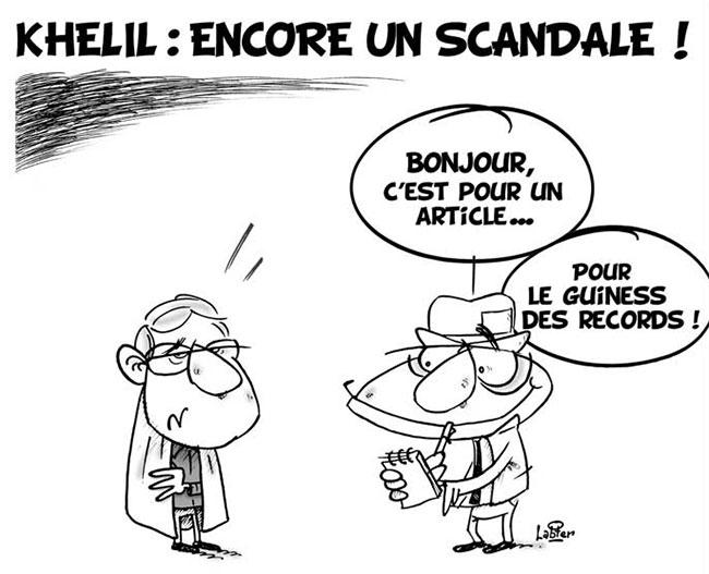 Khelil: Encore un scandale