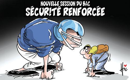 Nouvelle session du bac: Sécurité renforcée