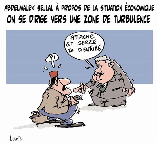 Abdelmalek Sellal à propos de la situation économique: On se dirige vers une zone de turbulance