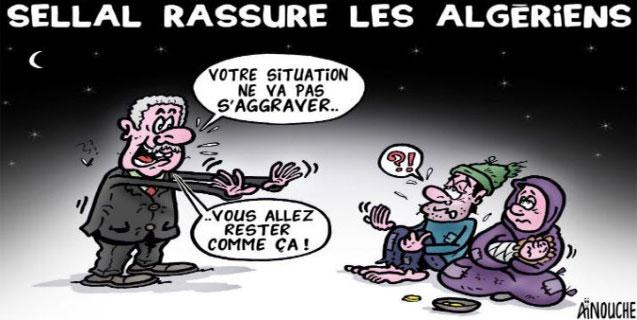 Sellal rassure les algériens