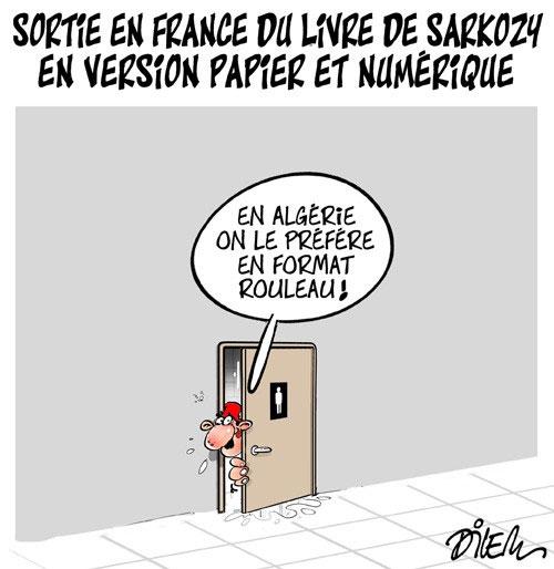 Sortie en France du livre de Sarkozy en version papier et numérique