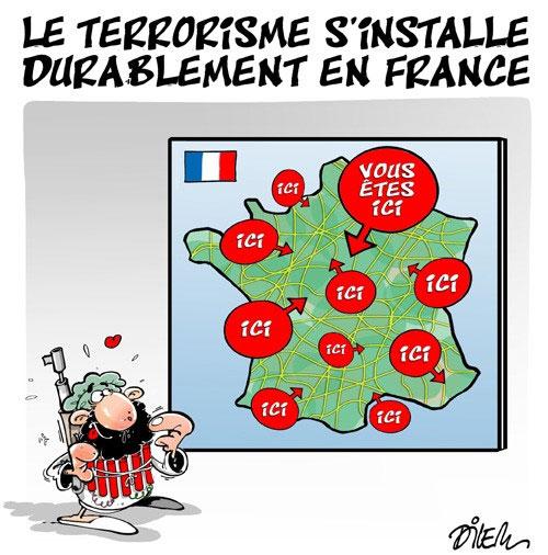 Le terrorisme s'installe durablement en France