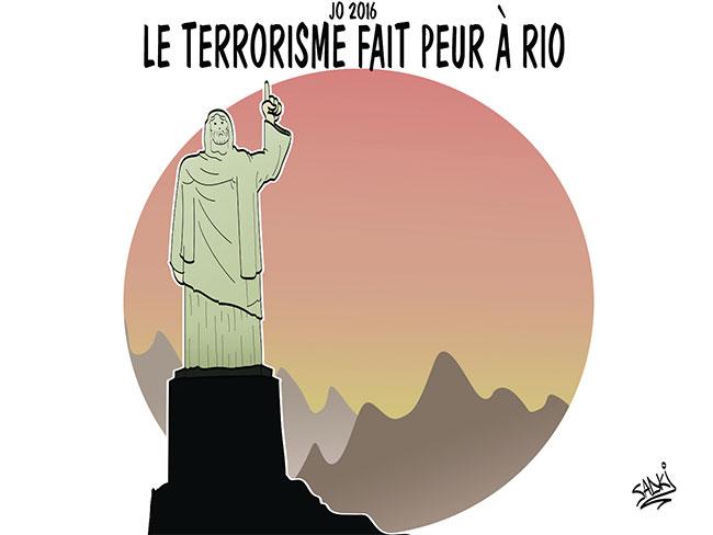 JO 2016: Le terrorisme fait peur à Rio