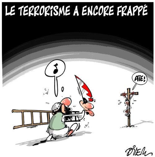 Le terrorisme a encore frappé