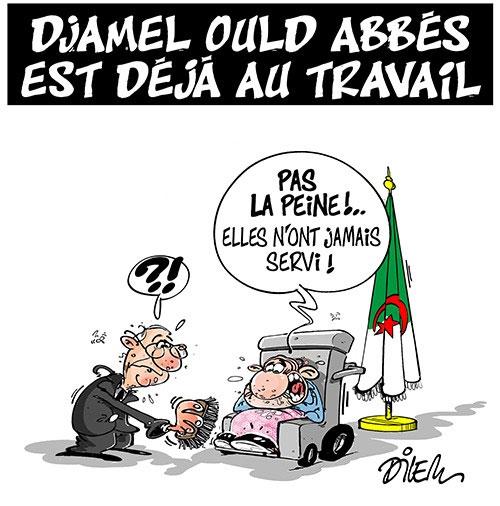 Djamel Ould Abbès est déjà au travail