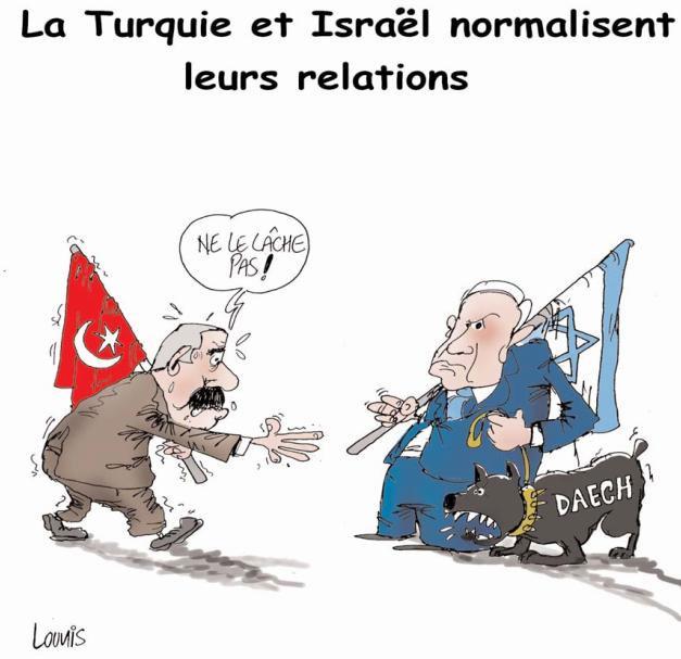 La Turquie et Israël normalisent leurs relations