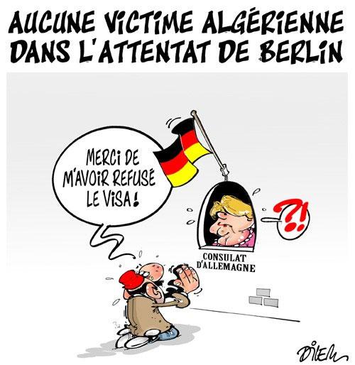 Aucune victime algérienne dans l'attentat de Berlin