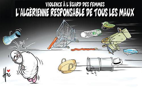 Violence à l'égard des femmes: L'algérienne responsable de tous les maux