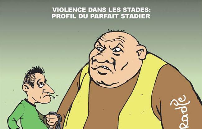 Violence dans les stades: Profil du parfait stadier
