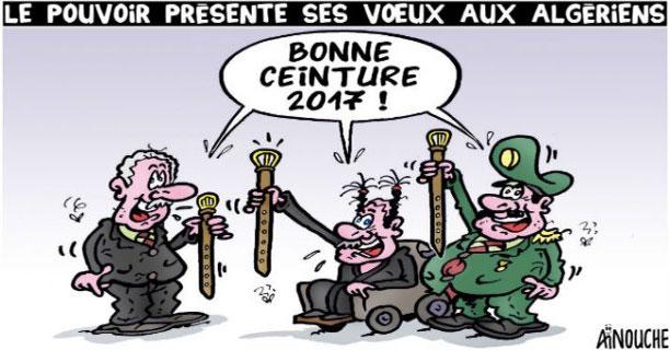 Le pouvoir présente ses voeux aux algériens