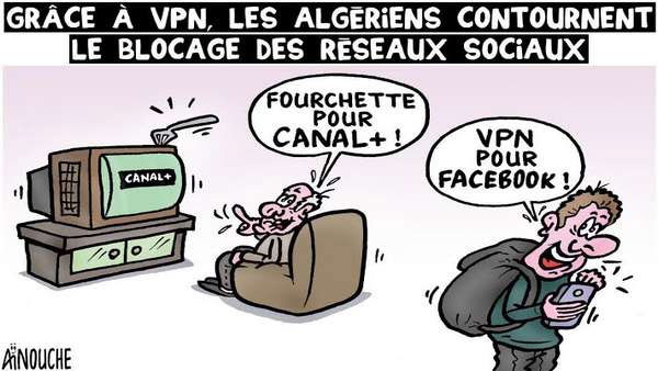 Grâce à VPN, les Algériens contournent le blocage des réseaux sociaux