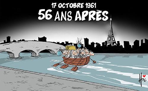 17 octobre 1961: 56 ans après