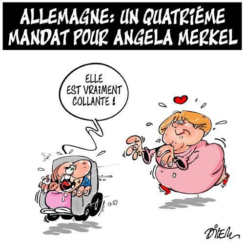 Allemagne: Un quatrième mandat pour Angela Merkel