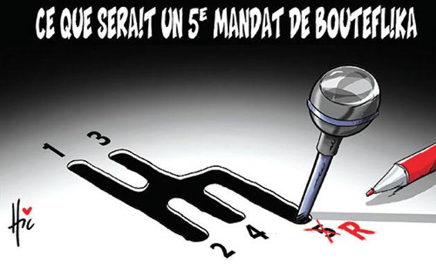 Ce que serait un 5e mandat de Bouteflika