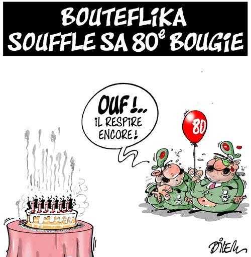 Bouteflika souffle sa 80e bougie
