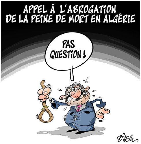 Appel à l'abrogation de la peine de mort en Algérie