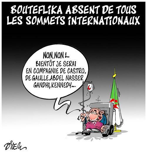 Bouteflika absent de tous les sommets internationaux