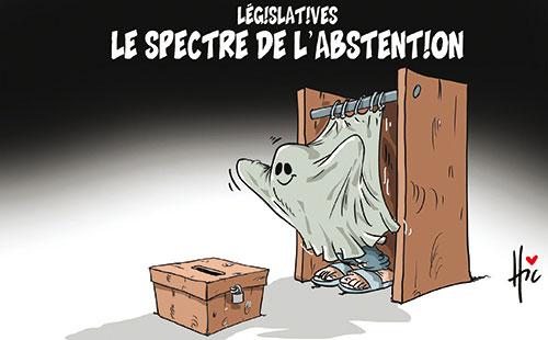 Législatives: Le spectre de l'abstention