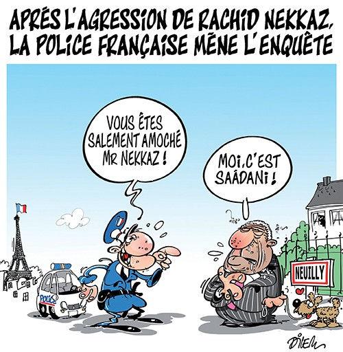 Après l'agression de Rachid Nekkaz, la police française mène l'enquête