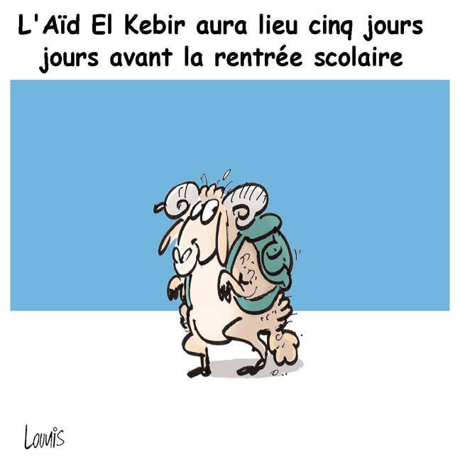 L'Aïd el kebir aura lieu cinq jours avant la rentrée scolaire