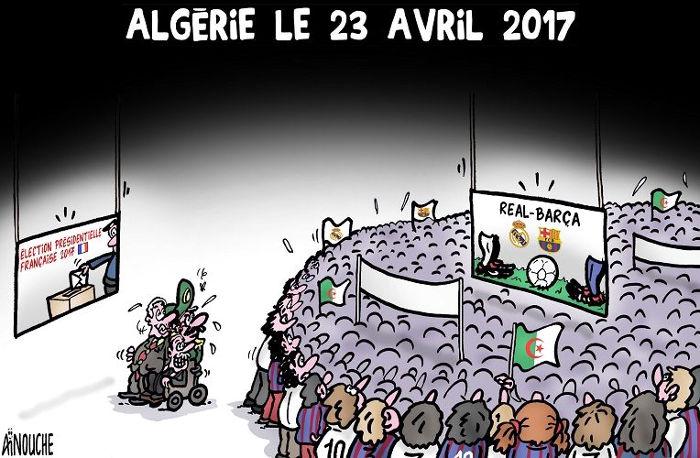 Algérie le 23 avril 2017