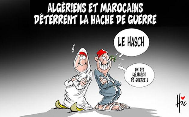 Algériens et marocains déterrent la hache de guerre