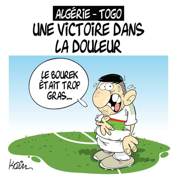 Algérie - Togo: Une victoire dans la douleur