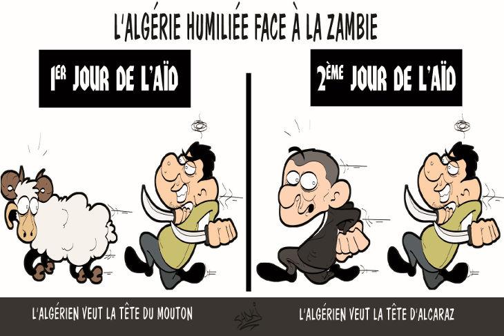 L'Algérie humiliée face à la Zambie