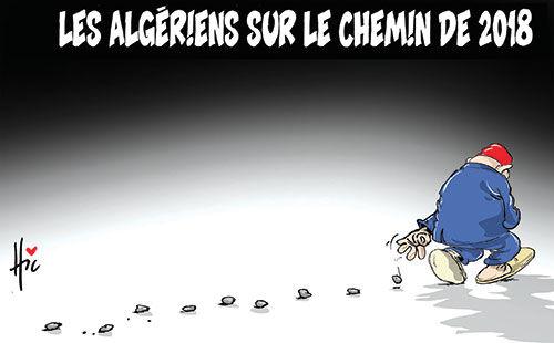 Les Algériens sur le chemin de 2018