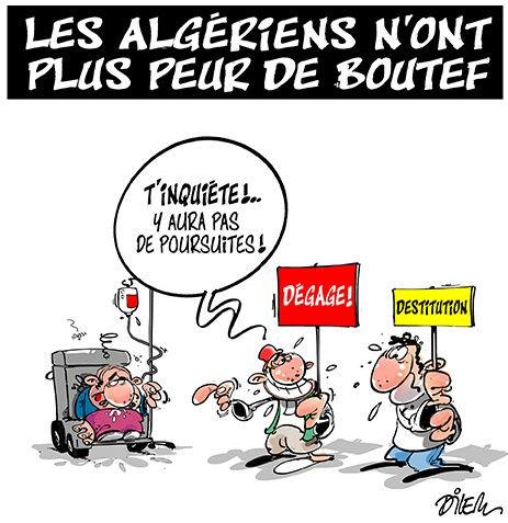 Les Algériens n'ont plus peur de Boutef