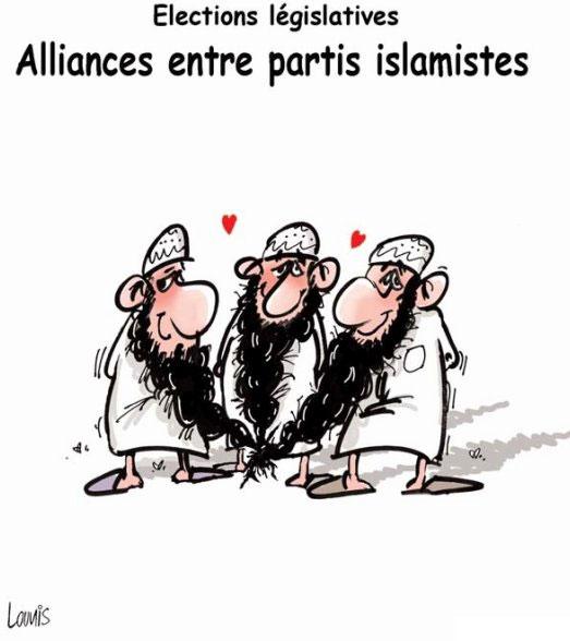 Elections législatives: Alliances entre partis islamistes