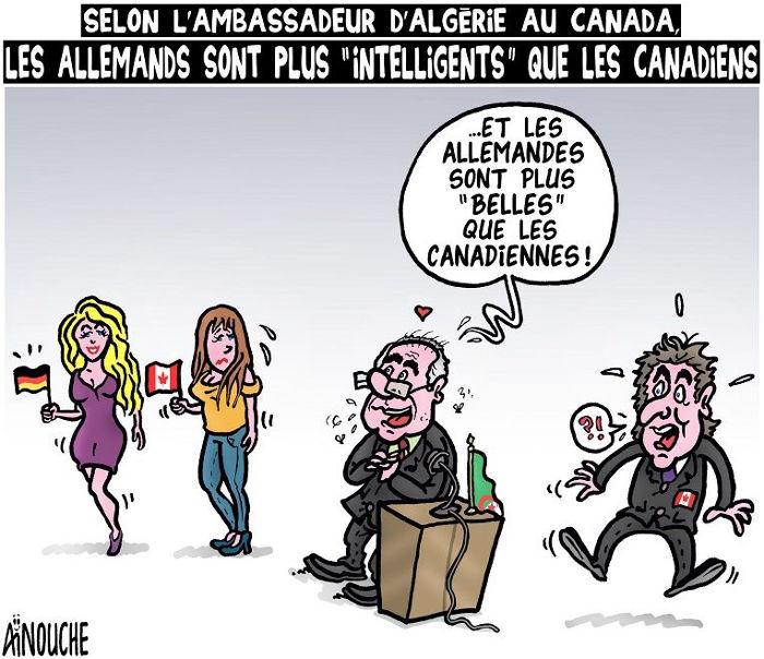 Selon l'ambassadeur d'Algérie au Canada