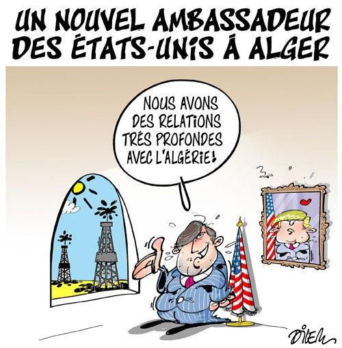 Un nouvel ambassadeur des Etats-Unis à Alger