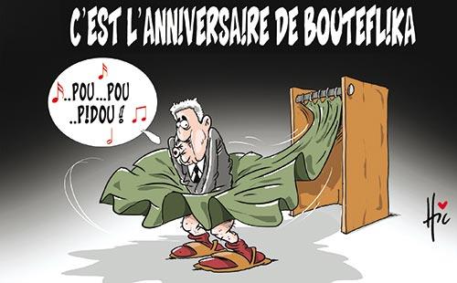 C'est l'anniversaire de Bouteflika