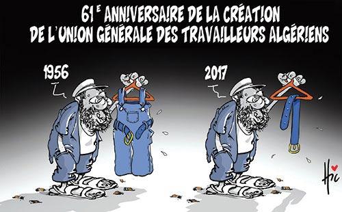 61e anniversaire de la création de l'union générale des travailleurs algériens
