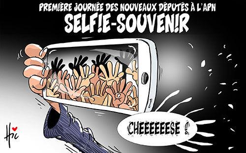 Première journée des nouveaux députés à l'apn: Selfie-souvenir