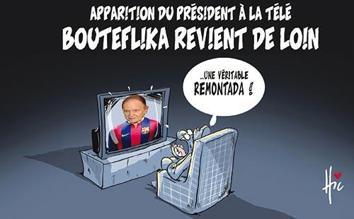 Apparition du président à la télé: Bouteflika revient de loin