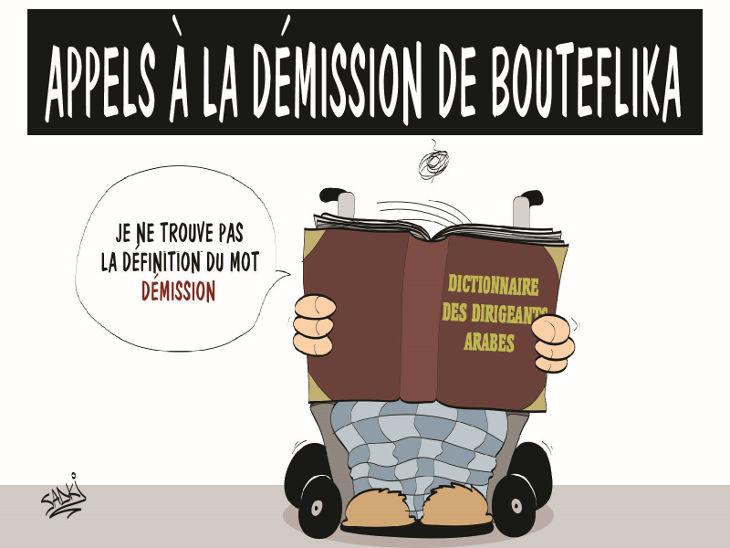 Appels à la démission de Bouteflika