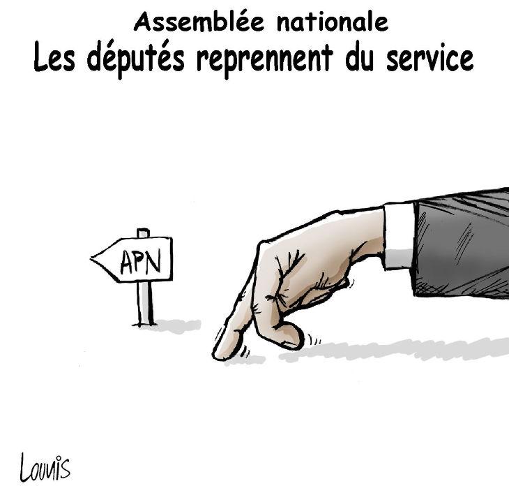 Assemblée nationale: Les députés reprennent du service